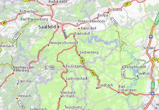 Carte-Plan Leutenberg
