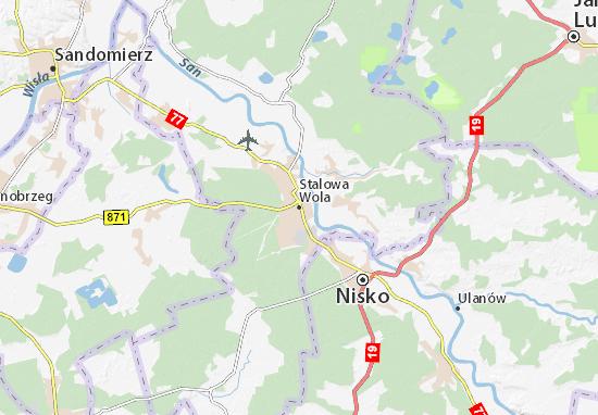 Stalowa Wola Map