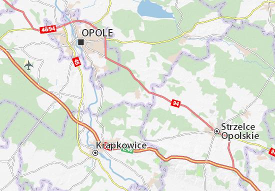 Mapa Tarnów Opolski