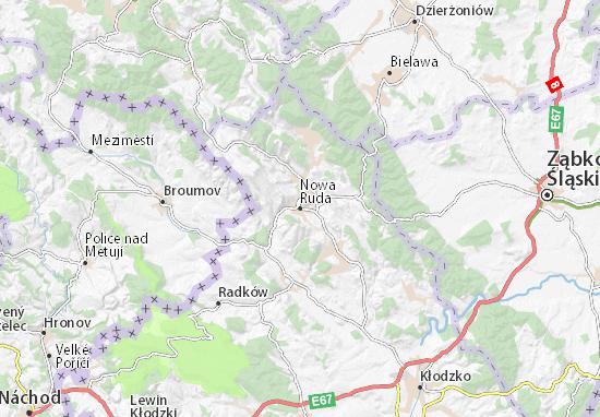 Nowa Ruda Map