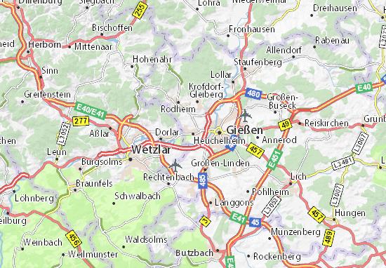Mapas-Planos Heuchelheim