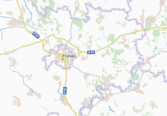 Mapa Plano Didivtsi