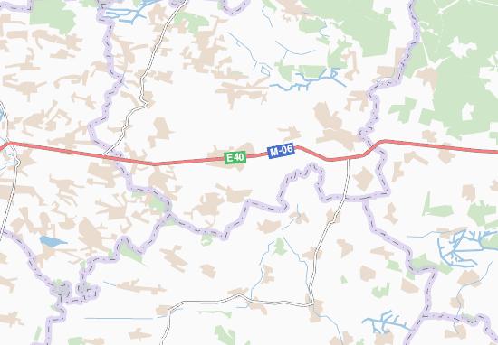 Mapas-Planos Brykiv