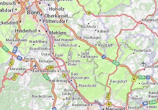 Sankt Katharinen Map