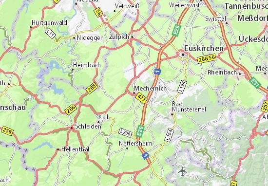 Mechernich Map