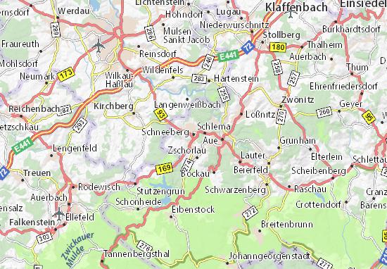 Schneeberg Map