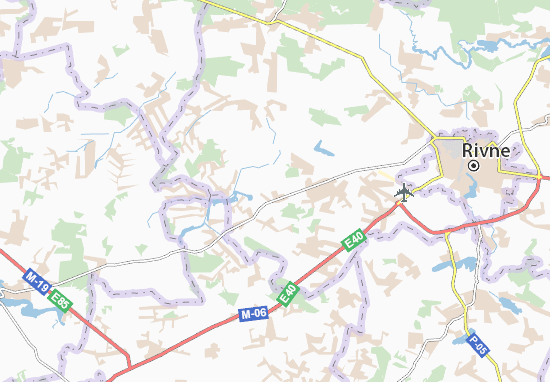 Mapas-Planos Malyi Shpakiv
