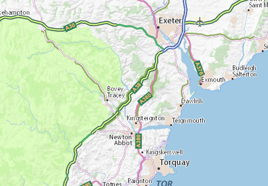 Mappe-Piantine Chudleigh