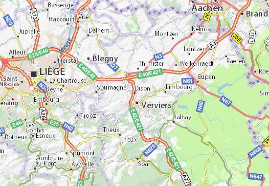 Mappe-Piantine Dison