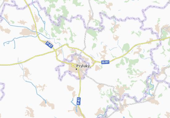 Mapa Plano Zamostya
