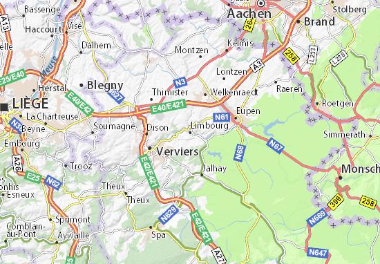 Mapa Plano Limbourg