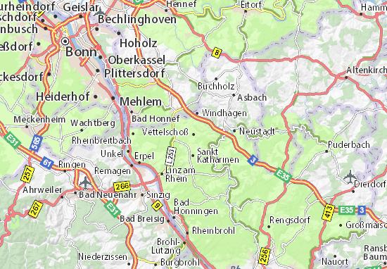 Vettelschoß Map