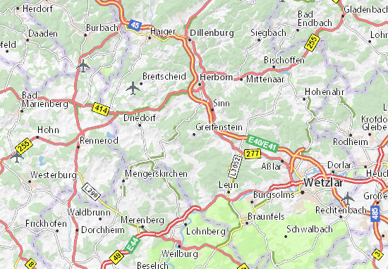 Carte-Plan Greifenstein
