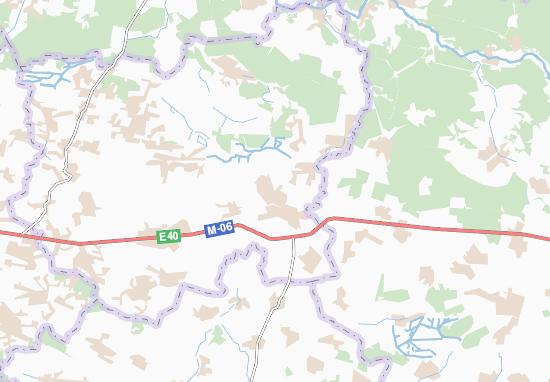 Mapas-Planos Hvizdiv