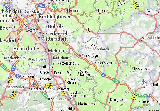 Windhagen Map