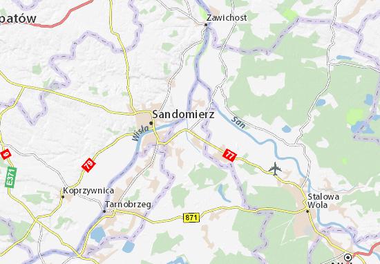 Mapa Gorzyce