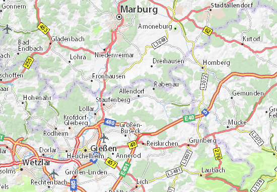 Allendorf Map