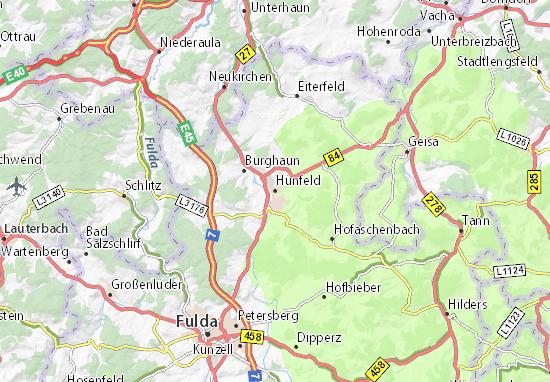 Mappe-Piantine Hünfeld
