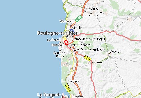 Map Of Pont De Briques Michelin Pont De Briques Map Viamichelin