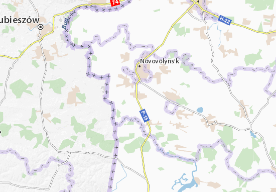 Stara Lishnya Map