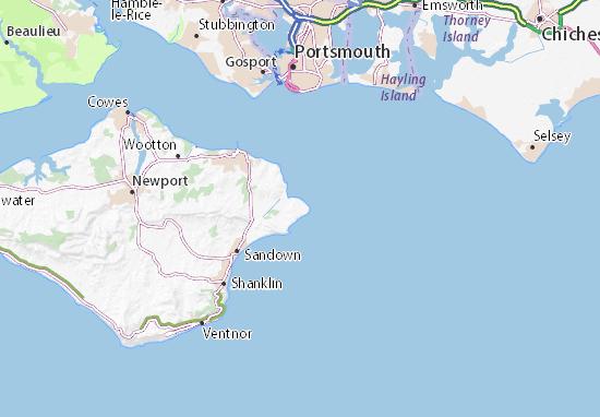 Bembridge Map