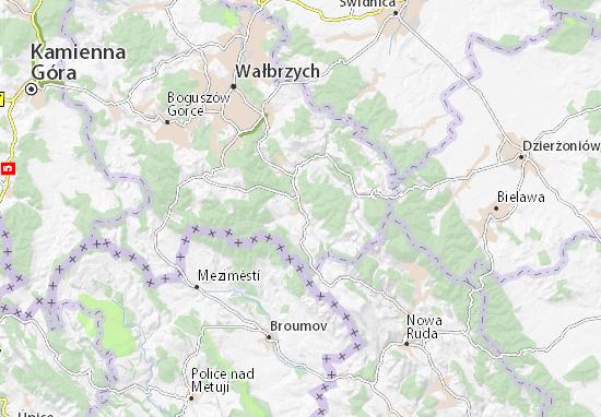 Mapa Głuszyca