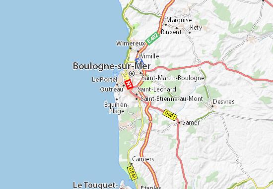 Mapas-Planos Saint-Léonard