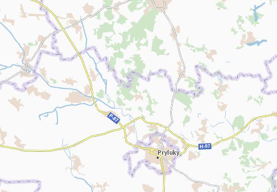 Mapas-Planos Lisovi Sorochyntsi