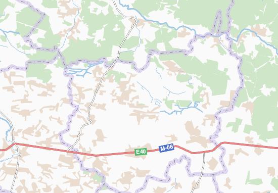 Mapas-Planos Zaliznytsya