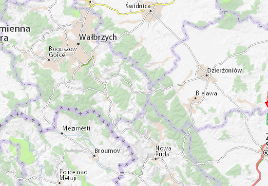 Mapa Walim