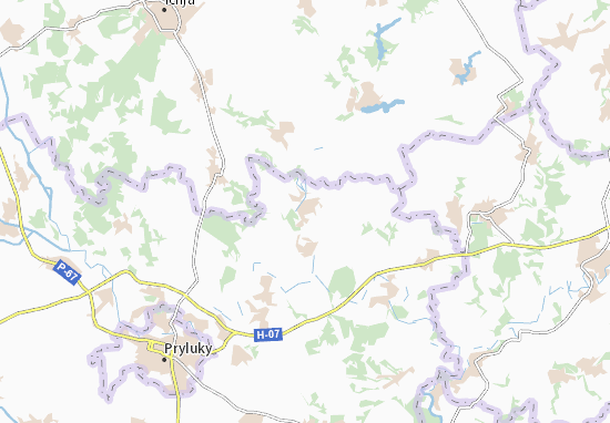 Mapas-Planos Ryashky