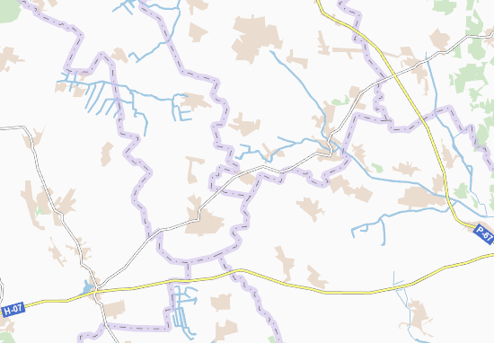 Carte-Plan Tereshkivka