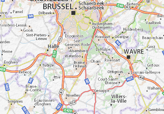 Mapas-Planos Waterloo