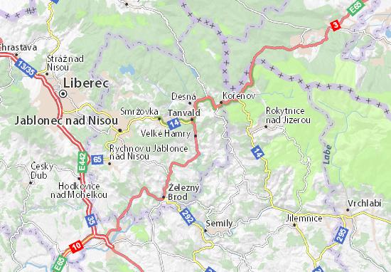 Mappe-Piantine Velké Hamry