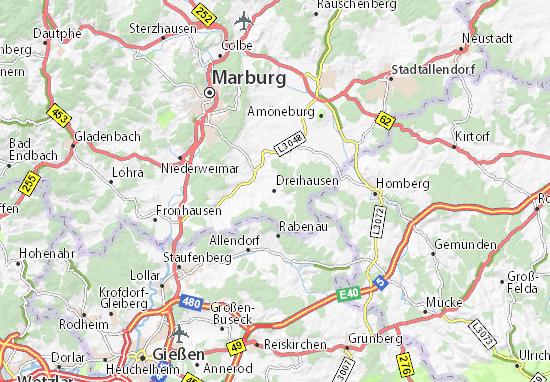 Dreihausen Map