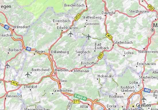 Siegbach Map