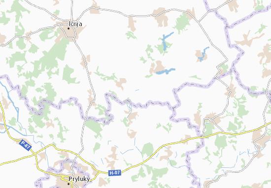 Carte-Plan Shchurivka