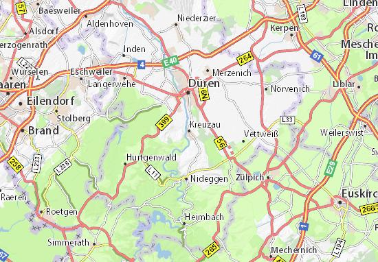 Kreuzau Map