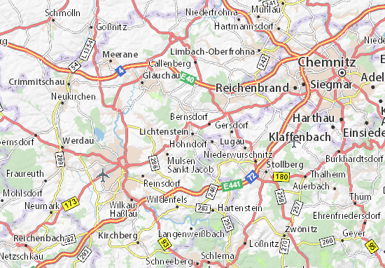 Lichtenstein Map
