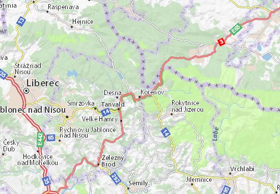Mappe-Piantine Kořenov