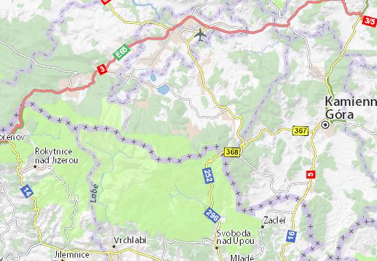 Mapa Plano Karpacz