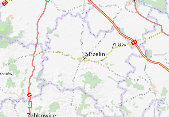 Mapas-Planos Strzelin