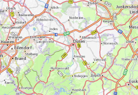 Mapas-Planos Rölsdorf