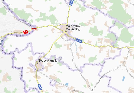 Zymne Map