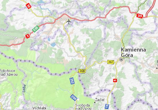 Carte-Plan Kowary