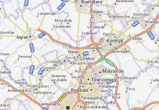 Menen Map