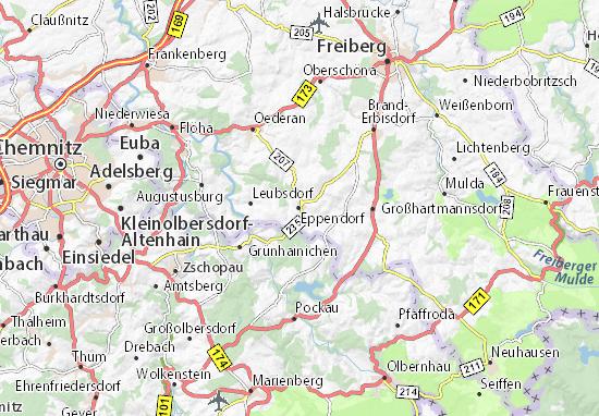 Karte Stadtplan Eppendorf
