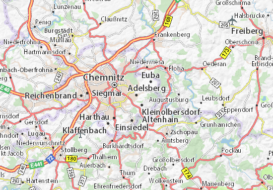 Carte-Plan Adelsberg