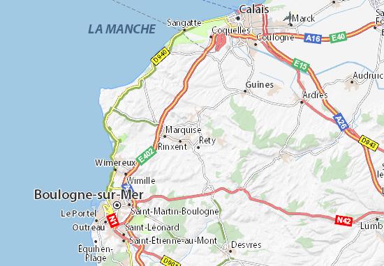 Carte détaillée La Basse Normandie - plan La Basse ...