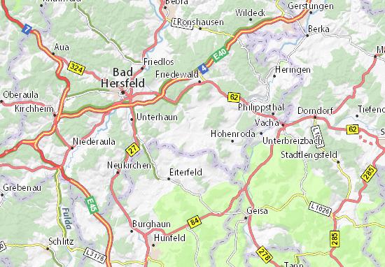 Schenklengsfeld Map